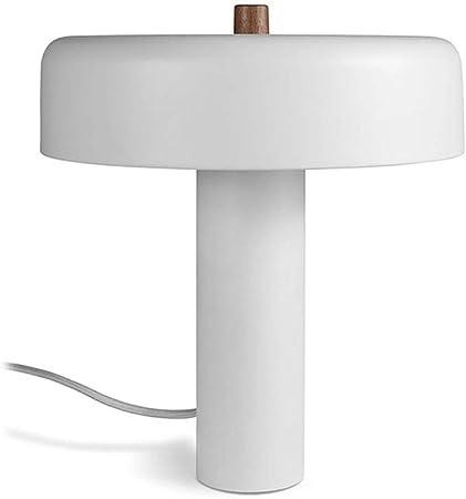 SYM Macaron - Lámpara de pie para dormitorio o mesita de noche, estudio, moderno, oficina, metal, lectura creativa, lámpara de mesa T-20-4-01, blanco: Amazon.es: Hogar