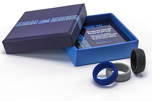 Gift Box Set Blue Flashlight - 3