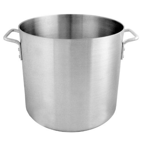 Thunder Group 16 Quart Aluminium Stock - Pot Quart 16 Stock Aluminum