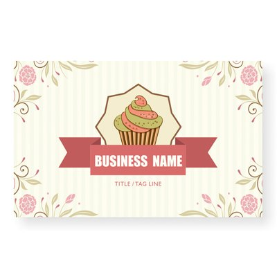 Amazon Com Design Your Own Personalized Business Card Cup Cake