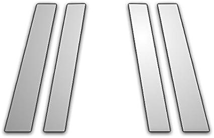 4Pc Chrome Pillar Post Trim for 93-96 Cadillac Fleetwood