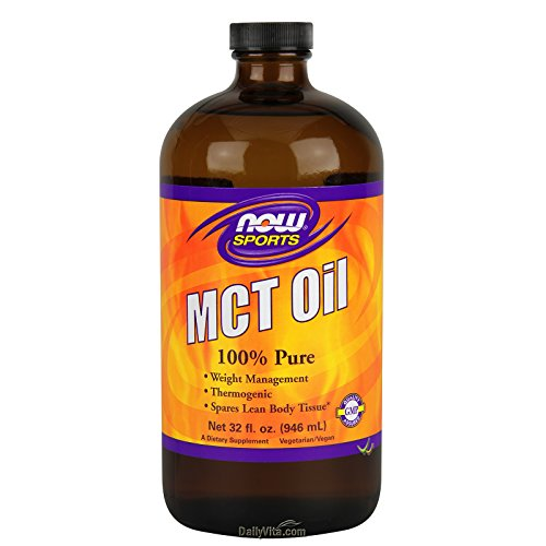 NOW Sports Nutrition, MCT (Medium-chain triglycerides)Oil, Liquid, 32-Ounce ()