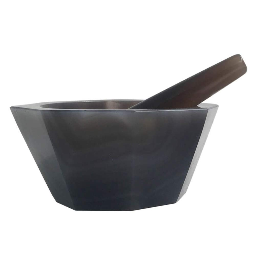 180mm Natural Agate Mortar with Pestle Chemistry Medical Laboratory Supplies Lab Eequipment Chemical Lab Grinding