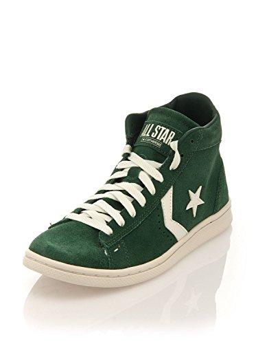 Converse Pro Leather LP Mid Suede - Zapatillas deportivas unisex tipo bota Verde scuro