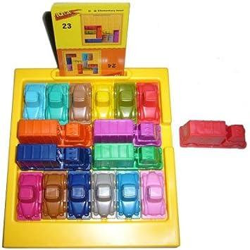 interesting iq car traffic jam puzzle car park game intelligent toy