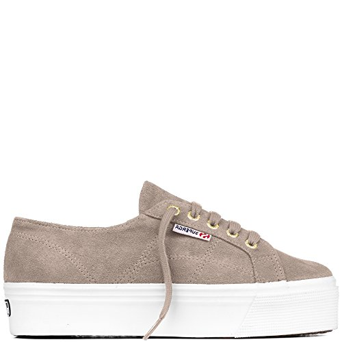 Superga Woman Sneaker Suede Sand Sand