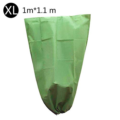 Winter Plant Frost Protection Cover, Plant Covers Freeze Protection Bag,Garden Plant Warming Fabric Jacket for Cold Weather Plants Fruits Small Tree