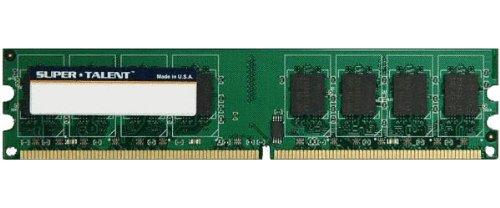 Super Talent DDR2-800 1GB/64X8 Hynix Chip Memory T800UB1GHY, Bulk ()