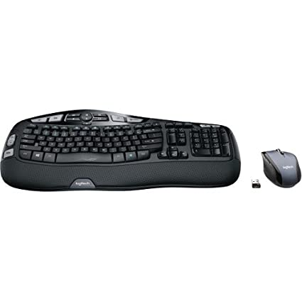 59d7f634130 Amazon.com: Logitech MK570 Comfort Wave Wireless Keyboard and Optical  Mouse: Computers & Accessories