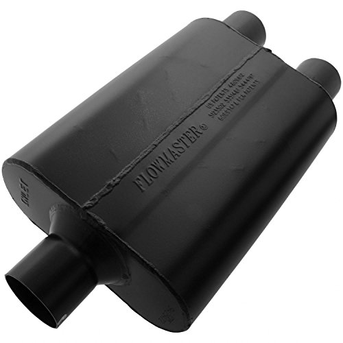 Flowmaster 9425472 Super 44 Muffler - 2.50 Center IN / 2.50 Dual OUT - Aggressive Sound ()