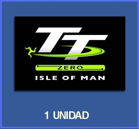 5 cm Dp220 Aufkleber Autocollants Adesivi Moto Decals Ecoshirt B5-28IS-2JDU Pegatinas Stickers Isla Isle of Man Ref