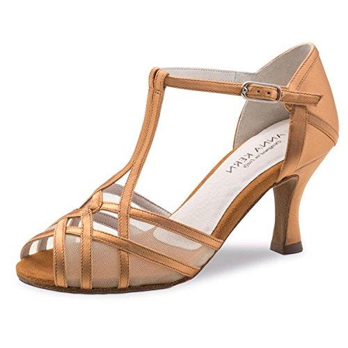 Bronze De 6 Femmes Kern Satin 60 Danse 640 Cm Anna Chaussures x7Aqt8wqf