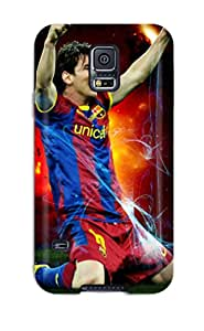 Faddish Phone Lionel Messi Charity Case For Galaxy S5 / Perfect Case Cover