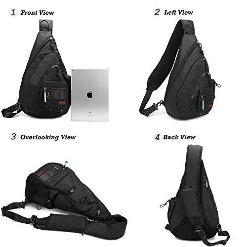 """Sling Bag Backpacks Chest Crossbody Bags 14.1/"""" Laptops Shoulder Multipurpose Day"""