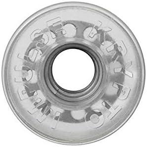 White Kryptonics Roller Impulse Wheels 62/mm