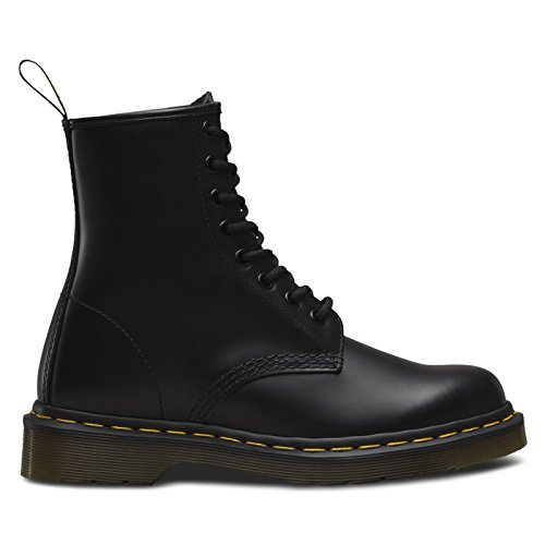 Dr. Martens 1460 Fashion Boot, Black Softy T, 7