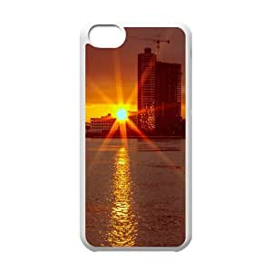 Vety New York IPhone 5C Cases New York Sunrise, [White]