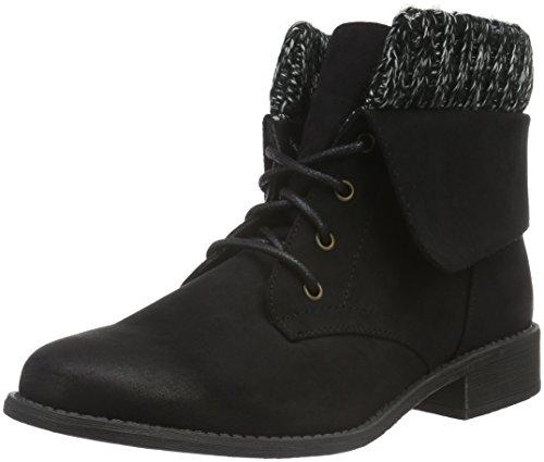Hailys Damen Lu Ariana Desert Boots Schwarz (Black)