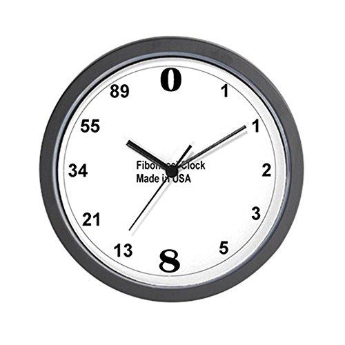 """CafePress - Fibonacci Wall Clock - Unique Decorative 10"""" Wall Clock"""