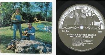 harlie. LP Signed By Oswald, Charlie Collins & Roy Acuff. (Collins Autographs)
