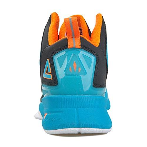 Piek Mens Fiba Serie Snelheid Eagleii-4 Basketbalschoenen Blauw / Oranje