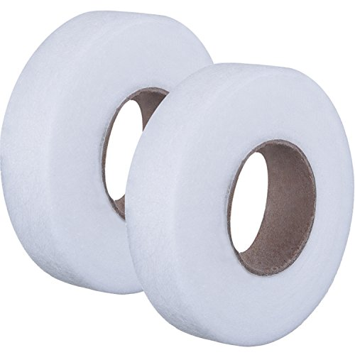 Learn More About Outus Fabric Fusing Tape Adhesive Hem Tape Iron-on Tape Each 27 Yards, 2 Pack (1/2 ...