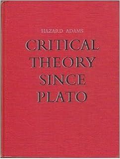 Amazon critical theory since plato 9780155055049 hazard adams critical theory since plato fandeluxe Images