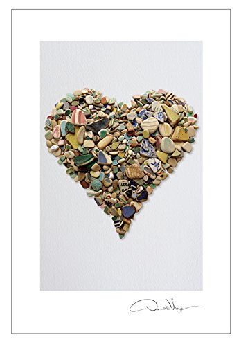 Pottery Heart Postcard Prints. 10 Pack, 4x6. Best Quality Gifts, Birthday Cards, Thank You Notes & Invitations. Heart Series. Unique Christmas and Valentines Gifts for Women, Men and Kids of All Ages