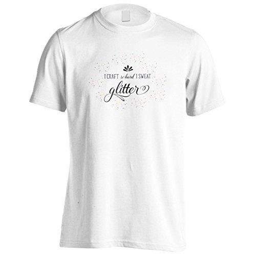 Ich Mache So Hart, Dass Ich Schweiß Glitze Herren T-Shirt k665m