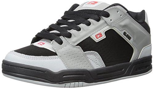 GLOBE Skateboard Shoes SCRIBE BLACK/GRAY/RED Size 8