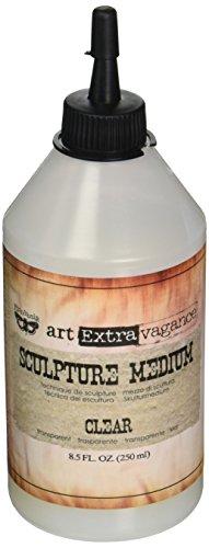 Prima Marketing 963019 Finnabair Art Extravagance Sculpture, Medium, Clear from Prima Marketing