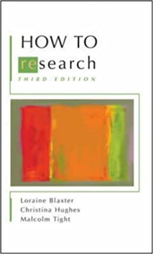 how to research tight malcolm hughes christina blaxter loraine