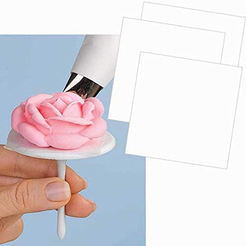 Wilton Pre-Cut Flower Squares, 1.75 by 1.75-Inch, 50-Pack