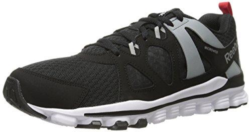 Running Red 2 Flat 0 Reebok Black Grey Men's White Hexaffect Rush MT Run Shoe xASnYwTZ