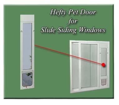 Ideal Hefty Pet Side Sliding Window - Range 44.5