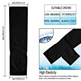 Tobfit UV Protection Cooling Arm Sleeves for Men