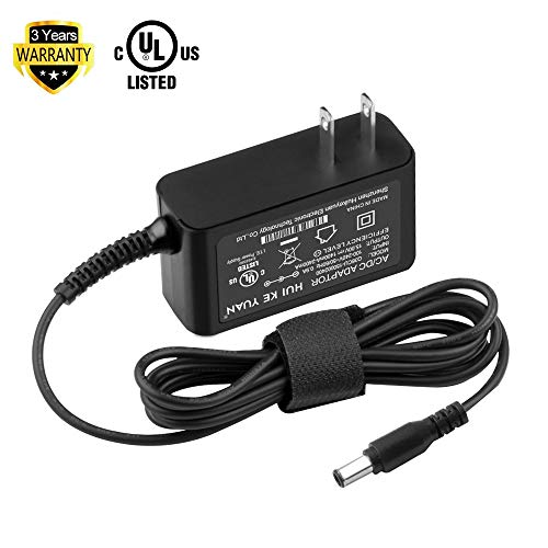 [UL Listed] TFDirect Ac Dc adapter for Sony SRS-X55 SRSBTX500 SRS-BTX500 Bluetooth Speaker Portable NFC Bluetooth Wireless Wi-Fi Personal Audio Speaker System Power Supply Cord Charger (Sony AC-E1530)