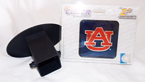 Auburn Tigers Square Trailer Hitch Cover for 2