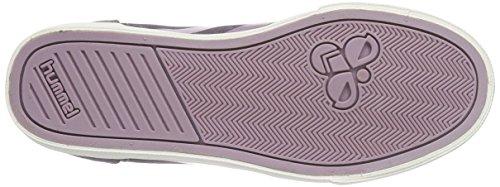 Hummel HUMMEL SS WAXED HERRINGBONE HI - zapatillas deportivas altas de lona Unisex adulto Violeta