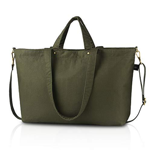 (BONTHEE Large Work Tote Bag Travel Tote Weekender Bag for Women -)