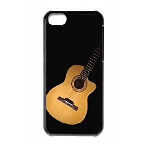 High Quality Specially Designed Skin cover Case tenson guitar iPhone 5c Cell Phone Case Black