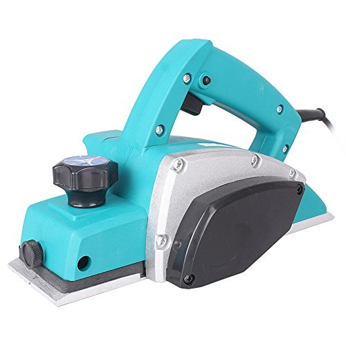 Three T Electric Wood Planer 1000W Powerful Handheld Planer Woodworking Tool for Home Furniture