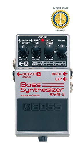 Boss SYB-5 Bass Synthesizer Pedal with 1 Year Free Extended