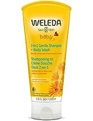Weleda 2in1 Gentle Shampoo + Body Wash, 6.8 Ounce