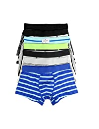 YiRing Boys Boxer Briefs Boys Underwear Boxer Shorts Variety of Boxers Underpant for Boys 5 Pack