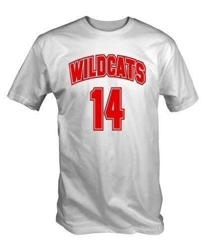 Shirt Large X T Niners 14 Wildcats Tee Xxl blanc vap1qpz