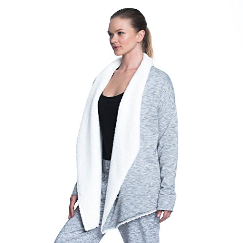 GAIAM Women's SIA Sherpa Long Sleeve Wrap Cold Weather Outerwear