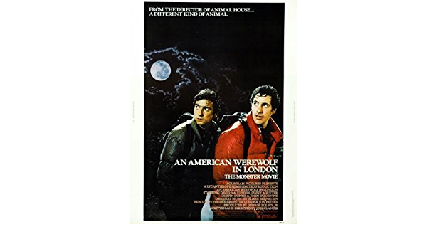 72456 AN AMERICAN WEREWOLF IN LONDON Movie Horror Wall Print POSTER CA