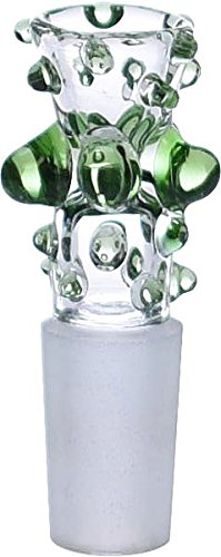 SCIENTIFIC GLASS, 12-784 14MM Male Bowl Snapper Slider 5 Marble Holder (784 Glasses)