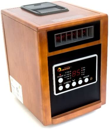 1. Dr. Infrared Heater DR998 Advanced Dual Heating System